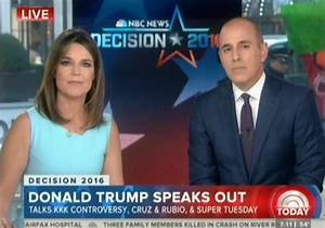 Under Pressure On The Today Show, Donald Trump Blames ...
