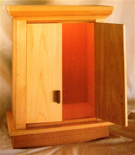 Prayer Cabinet by Buddhist Prayer Cabinet Mystic Wood And Paint