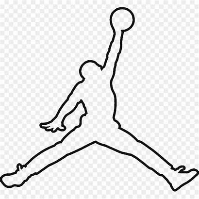 Jordan Nike Michael Clipart Jumpman Drawing Silhouette