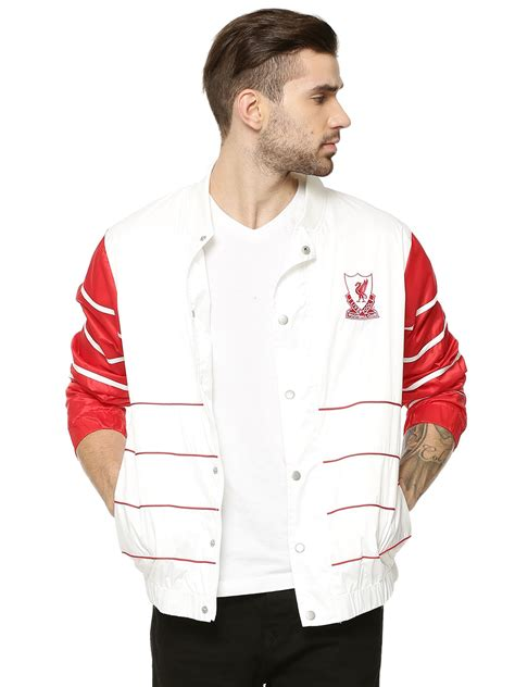 Buy Majestic White Official Licensed Liverpool FC Shell ...
