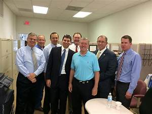 Martin County Sheriff William Snyder visits RV Johnson ...