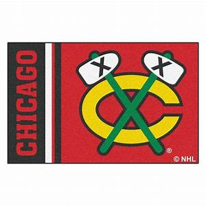 FANMATS NHL - Chicago Blackhawks Red 1 ft 7 in x 2 ft 6