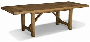 Classic Old And Vintage DIY Long Solid Wood Trestle Dining
