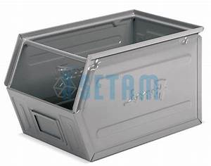 Bac A Bec Metal : bac bec m tallique verni 42 litres setam ~ Edinachiropracticcenter.com Idées de Décoration