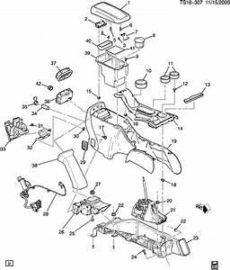 Chevrolet Trailblazer Console  Seat Separator Console