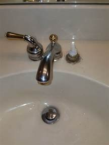moen monticello trying to remove bathroom faucet terry
