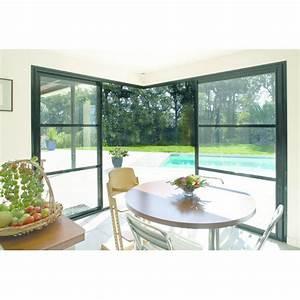 fenetre et porte fenetre aluminium coulissantes pour angle With fabricant de porte et fenétre