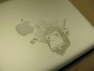 foto de MacBook Air Can Be Laser Etched With Monkeys