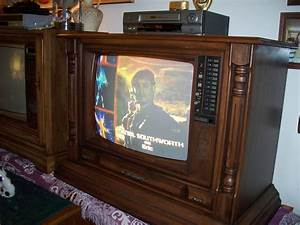 Curtis Mathes Television  Console Model G552r Made October
