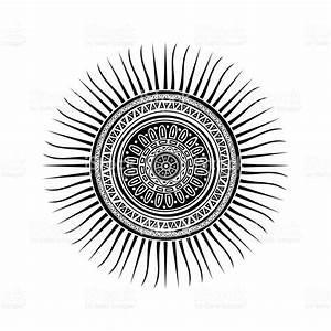 Mayan Sun Symbols