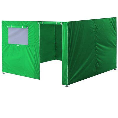 eurmax full zippered walls     easy pop  canopy tentenclosure sidewall kit