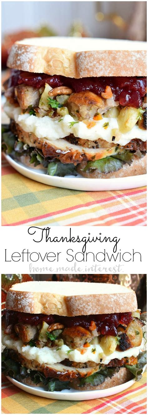 thanksgiving sandwich recipe thanksgiving leftovers sandwich home made interest