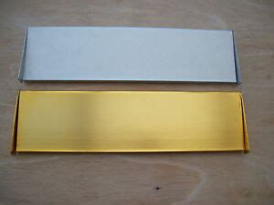 Interior Letter Box Cover by Interior Inner Flap Letter Box Tidy Brass And Satin
