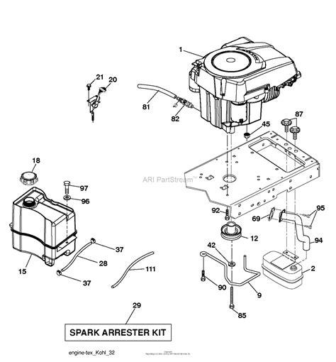 Husqvarna Ythk Parts Diagram