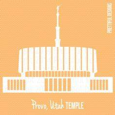 Provo city center temple utah lds mormon clip art png eps for Vinyl lettering provo utah