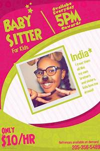 Babysitter Flyer Maker Copy Of Babysitting Flyer Template Babysitting Flyers