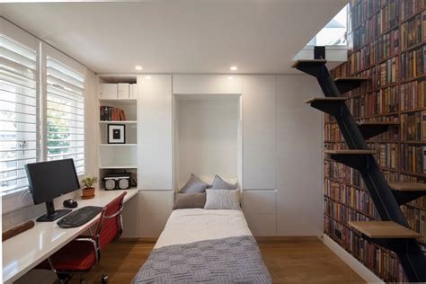 Home Office Design Australia by Marvelous Loft Bed With Desk In Home Office Modern
