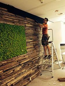 Waldkante Baumkante Wandverkleidung BS Holzdesign