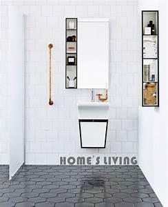 Carrelage Hexagonal Blanc : le carrelage hexagonal de salle de bain c 39 est tendance ~ Premium-room.com Idées de Décoration