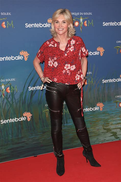 anthea turner attends cirque du soleils totem