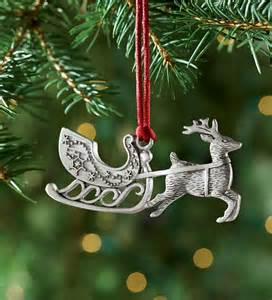 solid pewter christmas ornament pewter ornaments