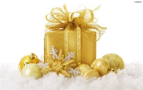 christmas golden wallpapers gifts christmas golden