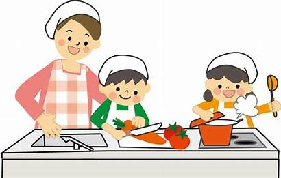 Cooking Children Nutrition Clip Kitchen Transparent Recipe