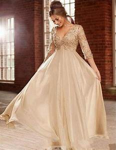 h007 champagne wedding dresses long 2016 plus size vintage With elegant plus size wedding dresses