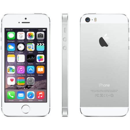 walmart iphone 5s b grade refurbished apple iphone 5s 16gb smartphone