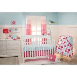 little bedding by nojo tickled pink 3 piece crib bedding