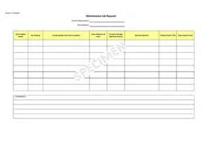 Vehicle Maintenance Log Sheet Template