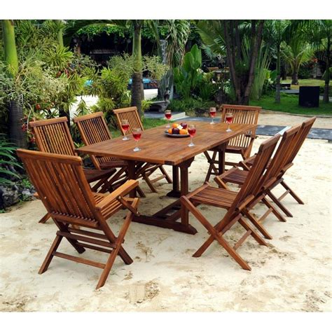 canapé teck jardin meubles de jardin en teck salon en teck lombok