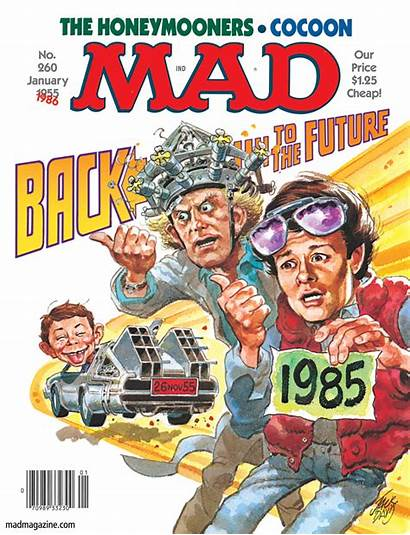 Mad Magazine Future Covers 1986 Comic Davis