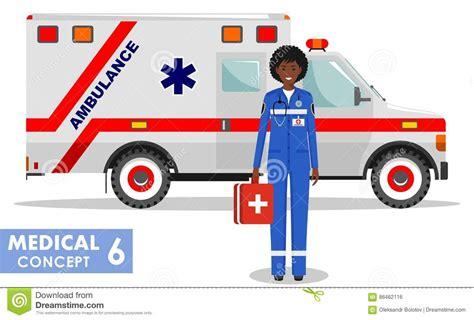 medical concept detailed illustration  african american
