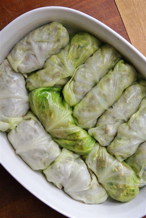 stuffed cabbage rolls savory stuffed cabbage rolls whole eats whole treats