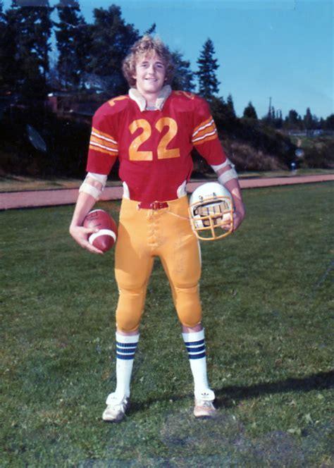 80's High School Football Player