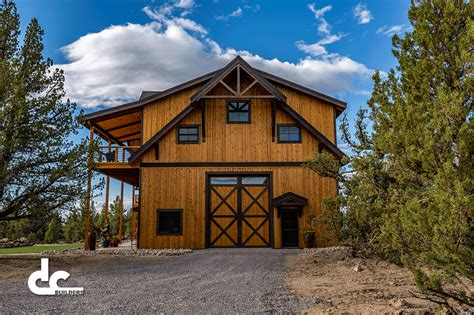 Barn Customs by Bend Oregon Barn Home Project Dc Builders
