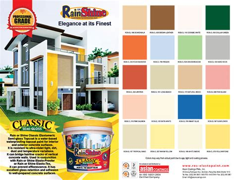 sun paint color chart paint color ideas