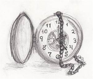 Pocket Watch Sketch by ashrous on DeviantArt