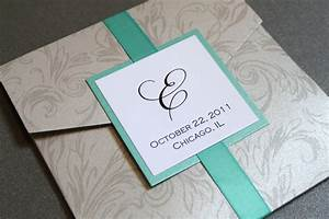 silver pocket invitation silver damask silver by With blank wedding invitations with pockets