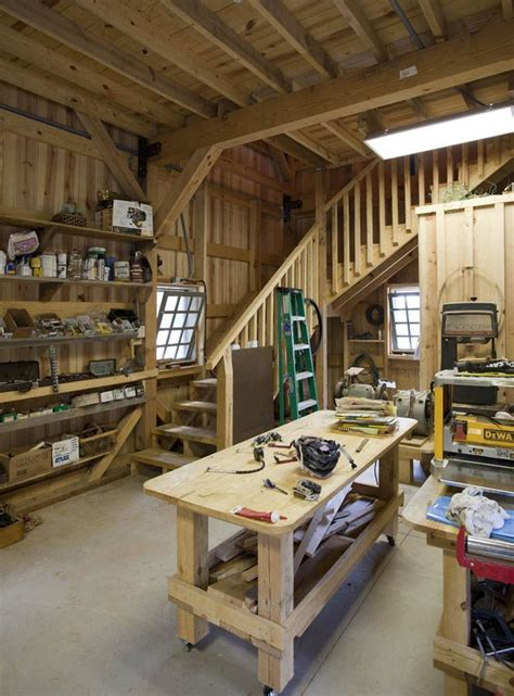 Barn Shop Ideas by Barn Workshop With Loft Area And Plenty Of Space For
