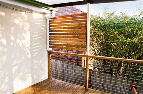 cool  easy diy deck  patio privacy screens shelterness