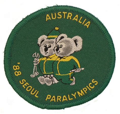 We're the superhumans   rio paralympics 2016 trailer. The 1988 Australian team symbol was a play on the official Games mascots - Paralympics