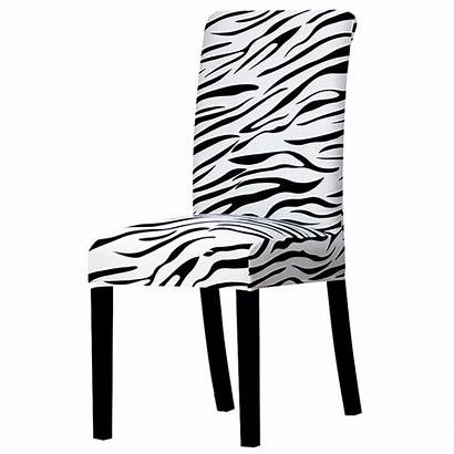 Chair Covers Zebra Chaise Dining Stretch Slipcover