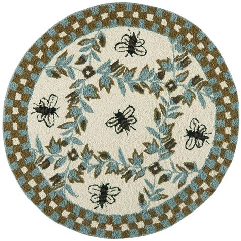 4 ft area rugs safavieh chelsea ivory teal 4 ft x 4 ft area rug