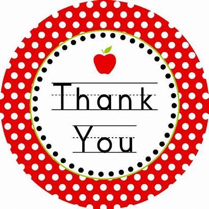 Thank Printable Tags Cards End Teacher Appreciation