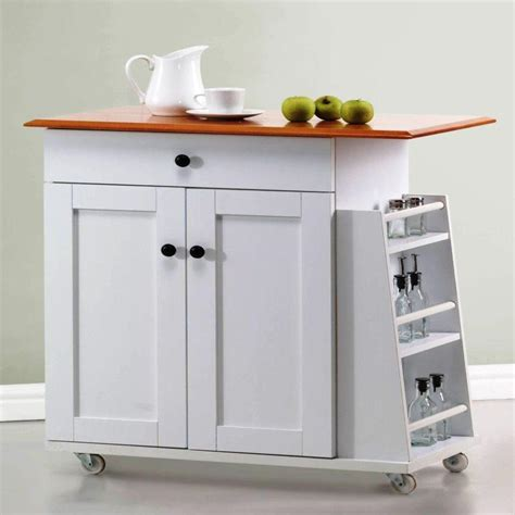 white kitchen island cart portable kitchen islands in 11 clean white design rilane 1387