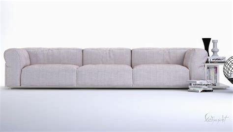 model modern long sofa cgtrader