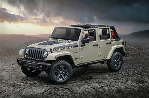 2017 Jeep Wrangler Jk by 2017 Jeep Wrangler Rubicon Recon Is The Most Road