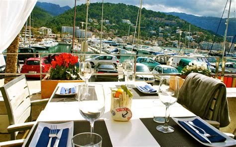restaurant port de kingfisher restaurant port de soller mallorca